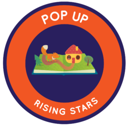 Our Rising Stars for Early Learners Challenge offers simple experiences with the creative process, and it gives young kids (preschool through 2nd grade) a place to work together and make new friends.